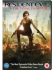 Resident Evil: The Final Chapter - DVD