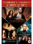 The Da Vinci Code/Angels and Demons/Inferno - DVD