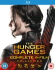 The Hunger Games: Complete 4-film Collection - Blu-ray