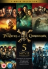 Pirates of the Caribbean: 5-movie Collection - DVD