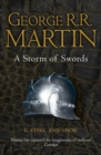 A Storm of Swords: Part 1 Steel and Snow (Reissue) - Book