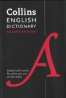 Collins English Pocket Dictionary : The Perfect Portable Dictionary