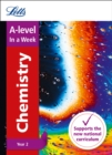 A -level Chemistry Year 2 In a Week