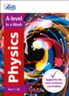 A -level Physics Year 1 (and AS) In a Week