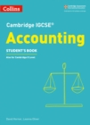 Cambridge IGCSE (R) Accounting Student's Book - Book