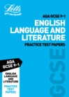 AQA GCSE English Language and Literature Practice Test Papers - Book