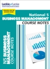 National 5 Business Management Course Notes - Book