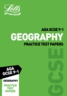 AQA GCSE 9-1 Geography Practice Test Papers - Book