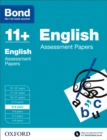 Bond 11+: English: Assessment Papers : 8-9 years
