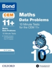 Bond 11+: CEM Maths Data 10 Minute Tests : 10-11 Years - Book