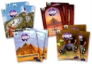 Project X CODE Extra: Purple Book Band, Oxford Level 8: Wonders of the World and Pyramid Peril, Class pack of 12