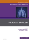 Pulmonary Embolism, An Issue of Clinics in Chest Medicine E-Book