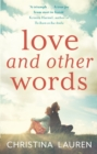 Love and Other Words - Book