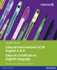 Edexcel International GCSE English A & B Student Book with ActiveBook CD - Book