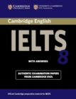 IELTS Practice Tests : Cambridge IELTS 8 Student's Book with Answers: Official Examination Papers from University of Cambridge ESOL Examinations