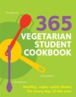 365 Vegetarian Student Cookbook - Book