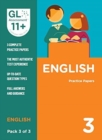 11+ Practice Papers English Pack 3 (Multiple Choice)