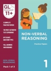 11+ Practice Papers Non-Verbal Reasoning Pack 1 (Multiple Choice)