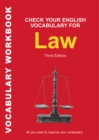 Check Your English Vocabulary for Law : All You Need to Improve Your Vocabulary