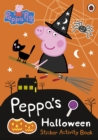 Peppa Pig: Peppa's Halloween Sticker Activity Book - Book