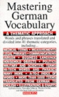 Mastering German Vocabulary - Book