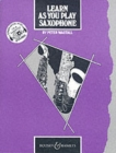 Learn as You Play Saxophone : Tutor Book - Book