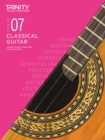 Trinity College London Classical Guitar Exam Pieces 2020-2023: Grade 7 - Book