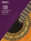 Trinity College London Classical Guitar Exam Pieces 2020-2023: Grade 8 - Book