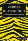 Verbal Reasoning 3 : Bk. 3 - Book