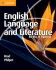 English Language and Literature for the IB Diploma - Book