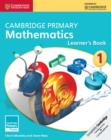 Cambridge Primary Maths : Cambridge Primary Mathematics Stage 1 Learner's Book