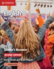 English B for the IB Diploma Teacher's Resource with Cambridge Elevate - Book