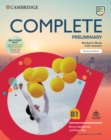 Complete Preliminary Self Study Pack (SB w Answers w Online Practice and WB w Answers w Audio Download and Class Audio) : For the Revised Exam from 2020