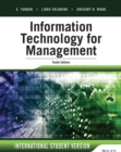 Information Technology for Management : Advancing Sustainable, Profitable Business Growth