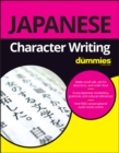Japanese Character Writing For Dummies - Book