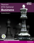 BTEC Nationals Business Student Book 1 + Activebook : For the 2016 specifications