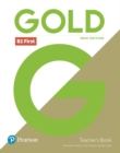 Gold B2 First New Edition Teacher's Book and DVD-ROM Pack