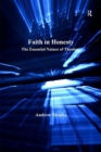 Faith in Honesty : The Essential Nature of Theology