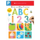 Write and Wipe Practice Flip Book: ABC 123 (Scholastic Early Learners) - Book