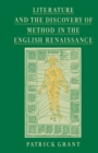 Literature and the Discovery of Method in the English Renaissance
