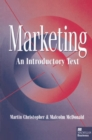 Marketing : An Introductory Text