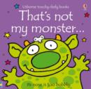 That's Not My Monster... - Book