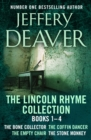 The Lincoln Rhyme Collection 1-4 : The Bone Collector, The Coffin Dancer, The Empty Chair, The Stone Monkey - eBook