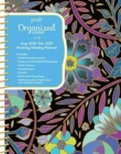 Posh: Organized Living Midnight Garden 2018-2019 Monthly/Weekly Planning Calendar - Book