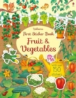 First Sticker Book Fruit and Vegetables - Book