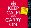 2020 Keep Calm and Carry on Page-A-Day Calendar