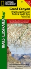 Grand Canyon, Bright Angel Canyon/north & South Rims : Trails Illustrated National Parks