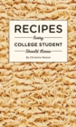 Recipes Every College Student Should Know - Book