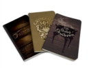 Harry Potter: Diagon Alley Pocket Journal Collection : Set of 3