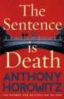 The Sentence is Death - Book